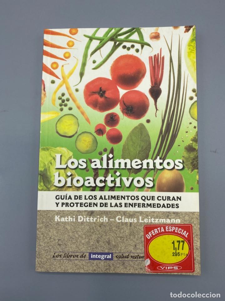 LOS ALIMENTOS BIOACTIVOS. K. DIRRTRICH & C. LEITZMANN. INTEGRAL. BARCELONA, 1998. PAGS: 111 (Libros de Segunda Mano - Ciencias, Manuales y Oficios - Medicina, Farmacia y Salud)