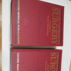 Libros de segunda mano: PETER J. MORRIS AND RONALD A. MALT OXFORD TEXTBOOK OF SURGERY ( 2 TOMOS) Q3729T. Lote 224311210