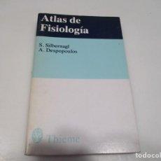 Livres d'occasion: S. SILBERNAGL, A. DESPOPOULOS ATLAS DE FISIOLOGÍA Q3915T. Lote 225502575