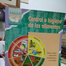 Libros de segunda mano: CONTROL E HIGIENE DE LOS ALIMENTOS, VARIOS AUTORES. 1999. EP-937. Lote 227235815
