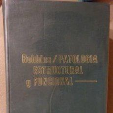 Libros de segunda mano: PATOLOGÍA ESTRUCTURAL Y FUNCIONAL, ROBBINS, INTERAMERICANA, 1.975. Lote 227755165