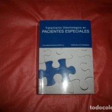 Libros de segunda mano: TRATAMIENTO ODONTOLÓGICO EN PACIENTES ESPECIALES (ODONTOLOGÍA). Lote 228048763