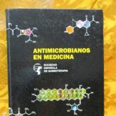 Libros de segunda mano: ANTIMICROBIANOS EN MEDICINA - J. E. GARCIA SANCHEZ- R. LOPEZ - J. PRIETO. Lote 228991480