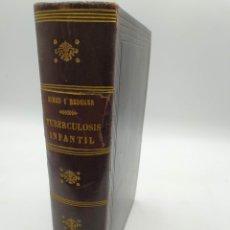 Libros de segunda mano: MANUAL PRÁCTICO DE TUBERCULOSIS INFANTIL SIMÓN Y REDEKER. Lote 229335095
