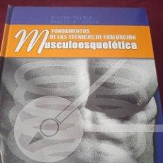 Libros de segunda mano: MUSCULOESQUELETICA. LYNN PALMER. EDITORIAL PAIDOTRIBO. 2002. Lote 230671195
