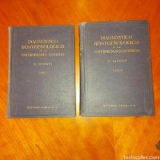 Libros de segunda mano: DIAGNÓSTICO RONTGENOLOGICO DE LAS ENFERMEDADES INTERNAS H. ASSMANN TOMO 1 Y 2 AÑO 1940. Lote 231825575