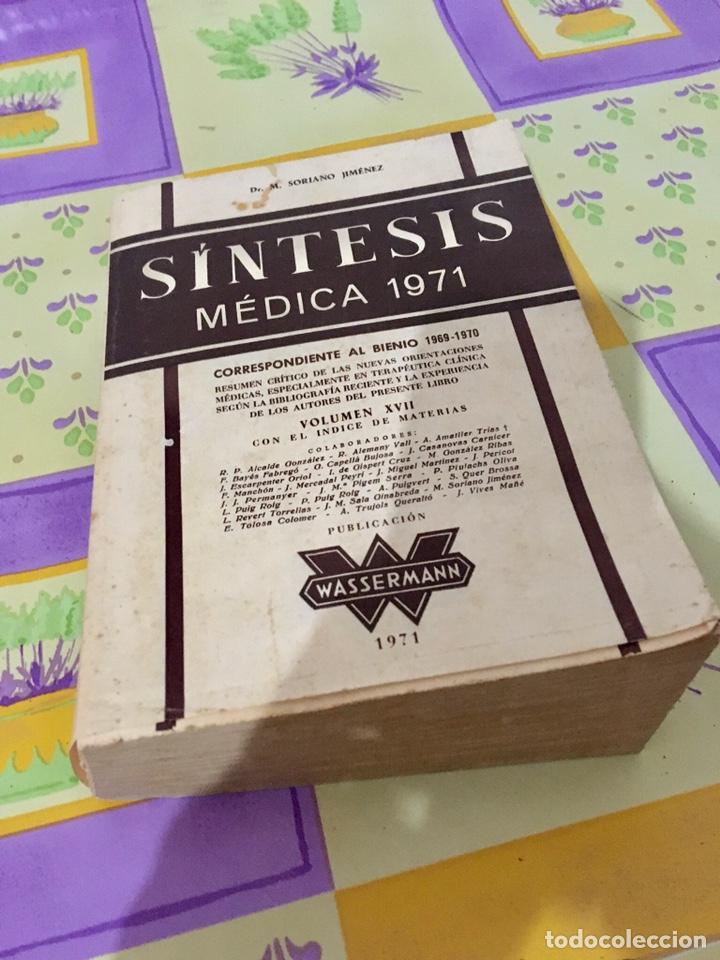SINTESIS MÉDICA 1971 (MEDICINA) (Libros de Segunda Mano - Ciencias, Manuales y Oficios - Medicina, Farmacia y Salud)