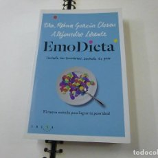 Libros de segunda mano: EMODIETA : EL NUEVO MÉTODO PARA LOGRAR TU PESO IDEAL - GARCÍA CLOSAS, REINA - N 11. Lote 232162665