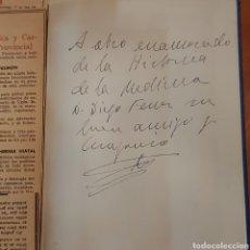 Libros de segunda mano: CON EXTRAS AÑADIDOS FIRMADO HISTORIA DEL REAL COLEGIO DE SAN CARLOS MADRID. Lote 234938530