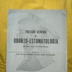 Libros de segunda mano: TRATADO GENERAL DE ODONTO-ESTOMATOLOGIA - CATALOGO Y EXPLICACION DE OBRAS PUBLICADAS - ED. ALHAMBRA. Lote 235016097