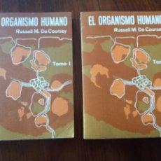 Libros de segunda mano: ORGANISMO HUMANO- RUSSELL MYLES DE COUSEY.2 TOMOS.. Lote 235088605