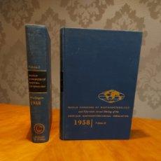 Libros de segunda mano: ILUSTRADO WORLD CONGRESS OF GASTROENTEROLOGY 2 TOMOS AMÉRICA CONGRESO MUNDIAL GASTROENTEROLOGÍA USA. Lote 235154370