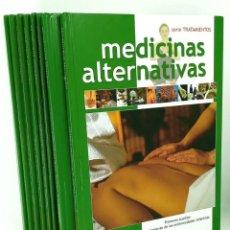 Libros de segunda mano: 8 TOMOS MEDICINAS ALTERNATIVAS - TÉCNICAS Y TRATAMIENTOS - ED. NAUTA 2006 - BUEN ESTADO. Lote 235596270