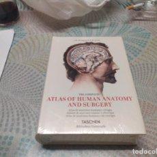 Libros de segunda mano: TASCHEN ATLAS OF HUMAN ANATOMY AND SURGERY MIREN FOTOS. Lote 235607625