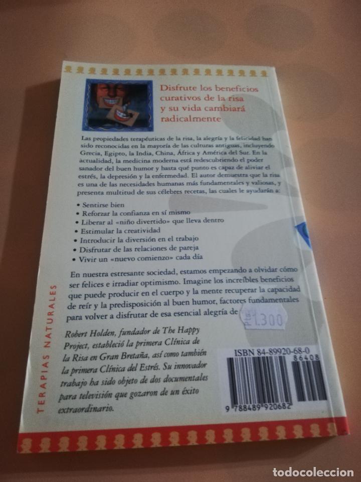 Libros de segunda mano: LA RISA. LA MEJOR MEDICINA. ROBERT HOLDEN. EDICIONES ONIRO.1943. - Foto 2 - 236046800