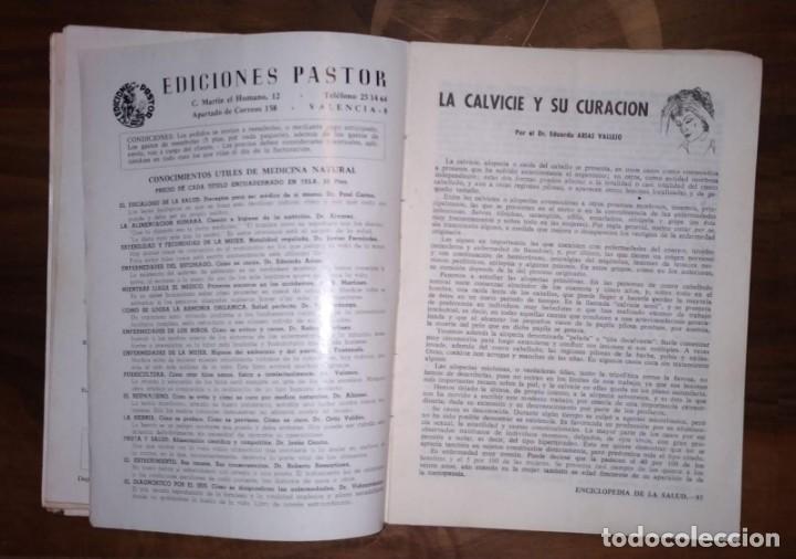 Libros de segunda mano: GRAN LOTE ENCICLOPEDIA DE LA SALUD. 60 EJEMPLARES DEL 21 AL 80. FASCICULOS DE TEMAS SANITARIOS. 1958 - Foto 2 - 236075985