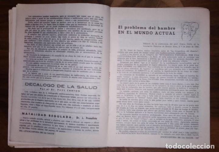 Libros de segunda mano: GRAN LOTE ENCICLOPEDIA DE LA SALUD. 60 EJEMPLARES DEL 21 AL 80. FASCICULOS DE TEMAS SANITARIOS. 1958 - Foto 3 - 236075985