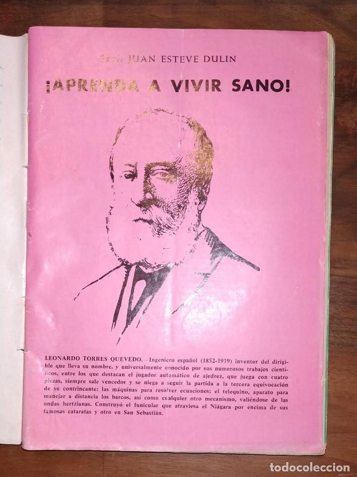 Libros de segunda mano: GRAN LOTE ENCICLOPEDIA DE LA SALUD. 60 EJEMPLARES DEL 21 AL 80. FASCICULOS DE TEMAS SANITARIOS. 1958 - Foto 6 - 236075985