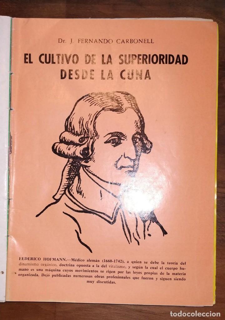 Libros de segunda mano: GRAN LOTE ENCICLOPEDIA DE LA SALUD. 60 EJEMPLARES DEL 21 AL 80. FASCICULOS DE TEMAS SANITARIOS. 1958 - Foto 8 - 236075985