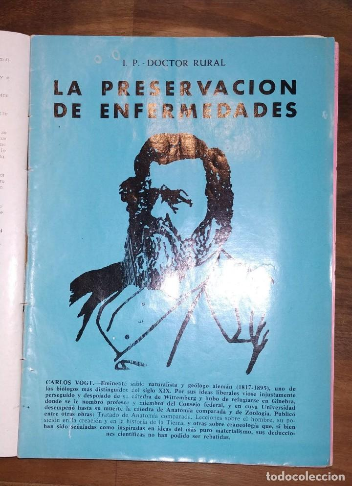Libros de segunda mano: GRAN LOTE ENCICLOPEDIA DE LA SALUD. 60 EJEMPLARES DEL 21 AL 80. FASCICULOS DE TEMAS SANITARIOS. 1958 - Foto 11 - 236075985