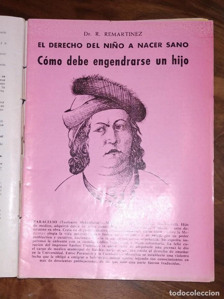 Libros de segunda mano: GRAN LOTE ENCICLOPEDIA DE LA SALUD. 60 EJEMPLARES DEL 21 AL 80. FASCICULOS DE TEMAS SANITARIOS. 1958 - Foto 12 - 236075985