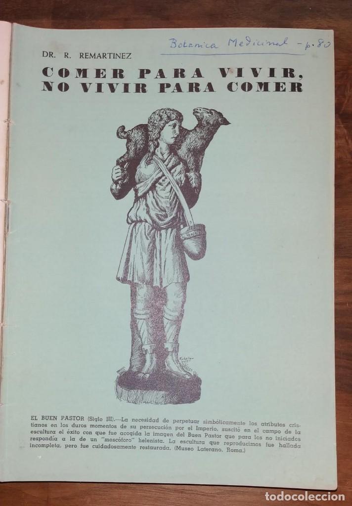 Libros de segunda mano: GRAN LOTE ENCICLOPEDIA DE LA SALUD. 60 EJEMPLARES DEL 21 AL 80. FASCICULOS DE TEMAS SANITARIOS. 1958 - Foto 17 - 236075985
