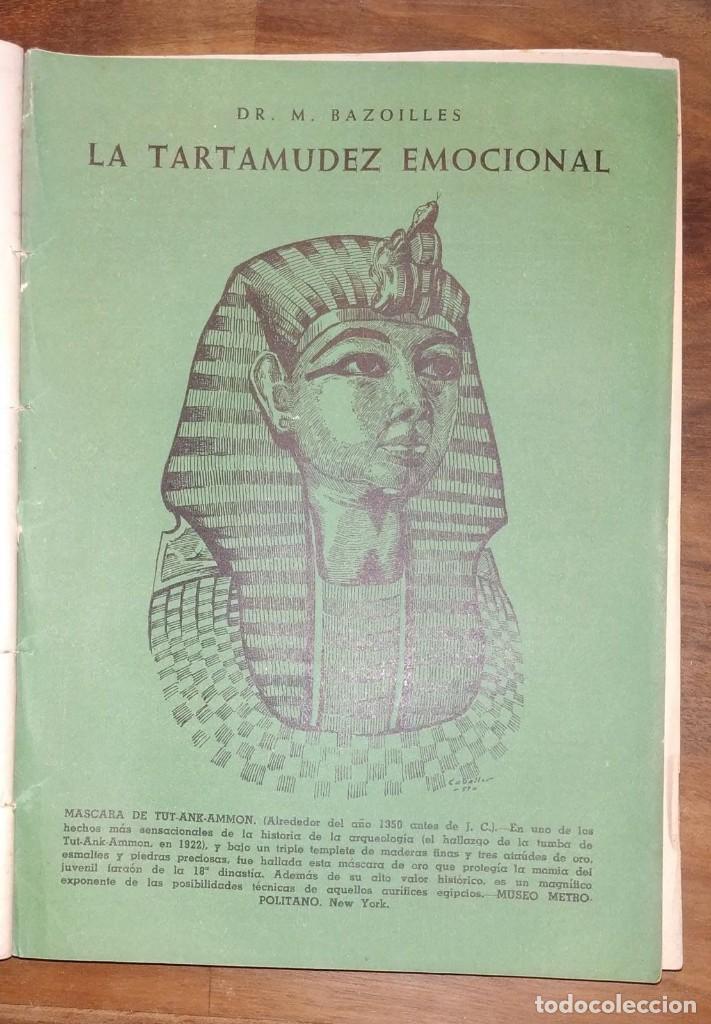 Libros de segunda mano: GRAN LOTE ENCICLOPEDIA DE LA SALUD. 60 EJEMPLARES DEL 21 AL 80. FASCICULOS DE TEMAS SANITARIOS. 1958 - Foto 20 - 236075985