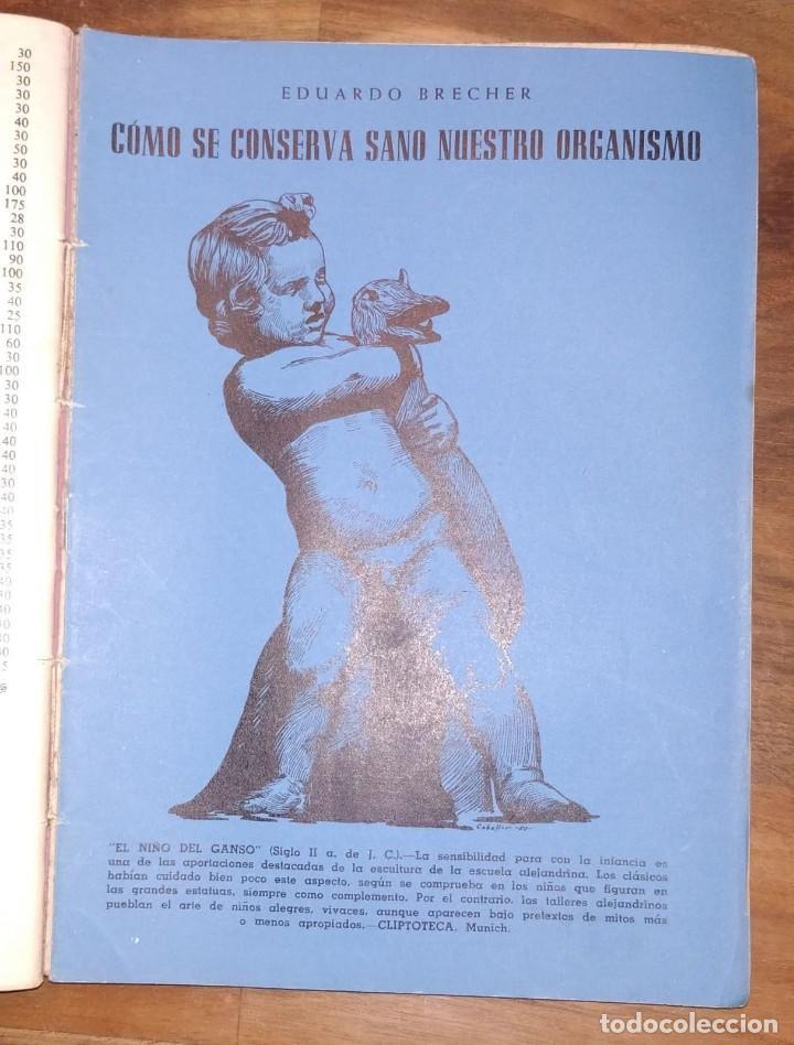 Libros de segunda mano: GRAN LOTE ENCICLOPEDIA DE LA SALUD. 60 EJEMPLARES DEL 21 AL 80. FASCICULOS DE TEMAS SANITARIOS. 1958 - Foto 22 - 236075985