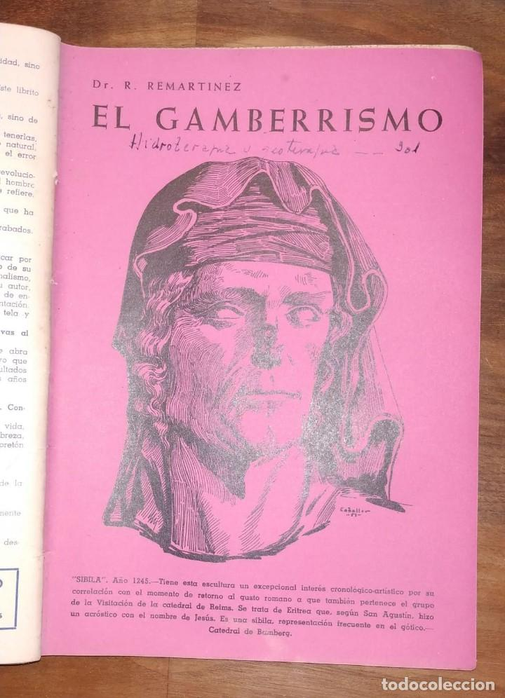 Libros de segunda mano: GRAN LOTE ENCICLOPEDIA DE LA SALUD. 60 EJEMPLARES DEL 21 AL 80. FASCICULOS DE TEMAS SANITARIOS. 1958 - Foto 24 - 236075985