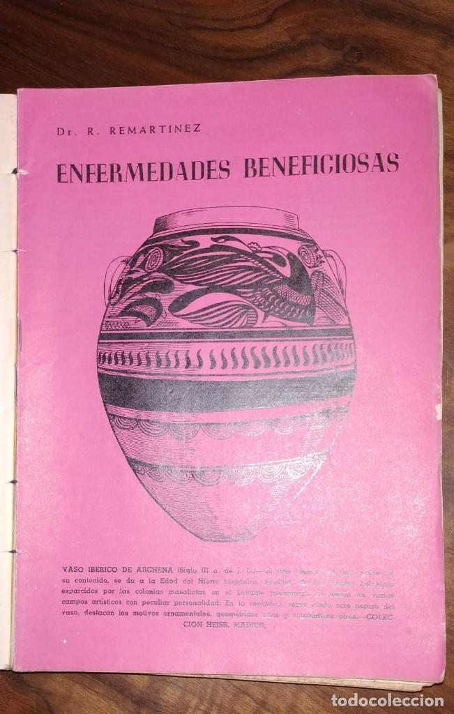 Libros de segunda mano: GRAN LOTE ENCICLOPEDIA DE LA SALUD. 60 EJEMPLARES DEL 21 AL 80. FASCICULOS DE TEMAS SANITARIOS. 1958 - Foto 26 - 236075985