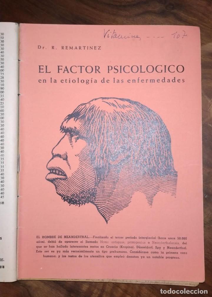 Libros de segunda mano: GRAN LOTE ENCICLOPEDIA DE LA SALUD. 60 EJEMPLARES DEL 21 AL 80. FASCICULOS DE TEMAS SANITARIOS. 1958 - Foto 28 - 236075985