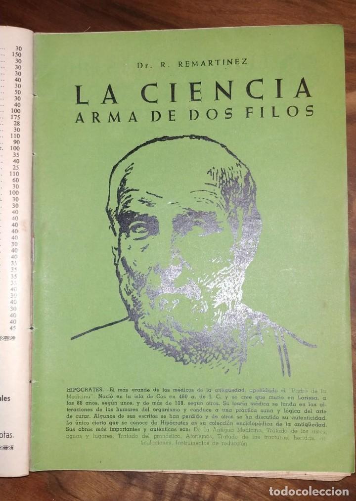 Libros de segunda mano: GRAN LOTE ENCICLOPEDIA DE LA SALUD. 60 EJEMPLARES DEL 21 AL 80. FASCICULOS DE TEMAS SANITARIOS. 1958 - Foto 30 - 236075985