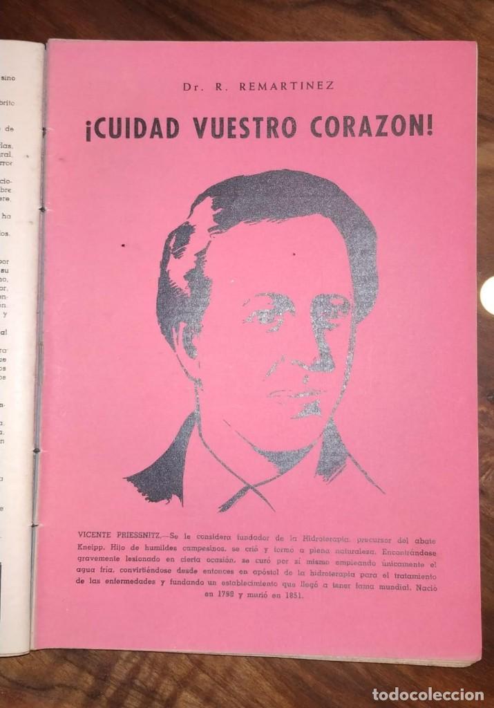 Libros de segunda mano: GRAN LOTE ENCICLOPEDIA DE LA SALUD. 60 EJEMPLARES DEL 21 AL 80. FASCICULOS DE TEMAS SANITARIOS. 1958 - Foto 31 - 236075985