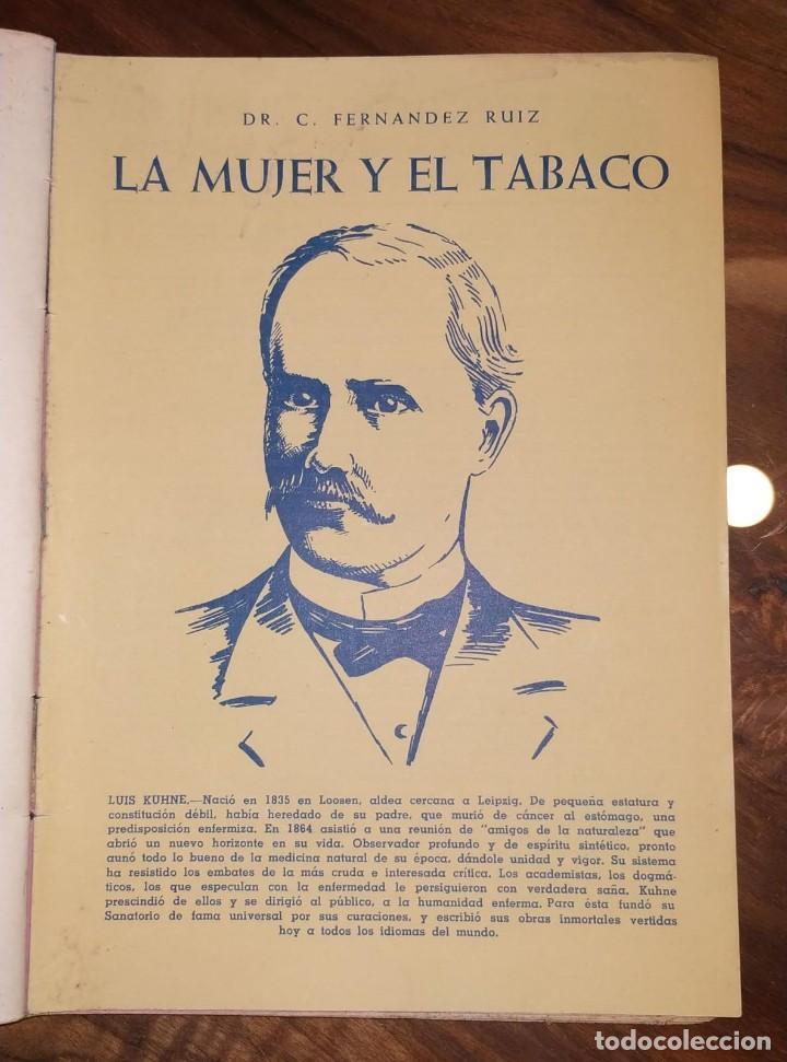 Libros de segunda mano: GRAN LOTE ENCICLOPEDIA DE LA SALUD. 60 EJEMPLARES DEL 21 AL 80. FASCICULOS DE TEMAS SANITARIOS. 1958 - Foto 33 - 236075985