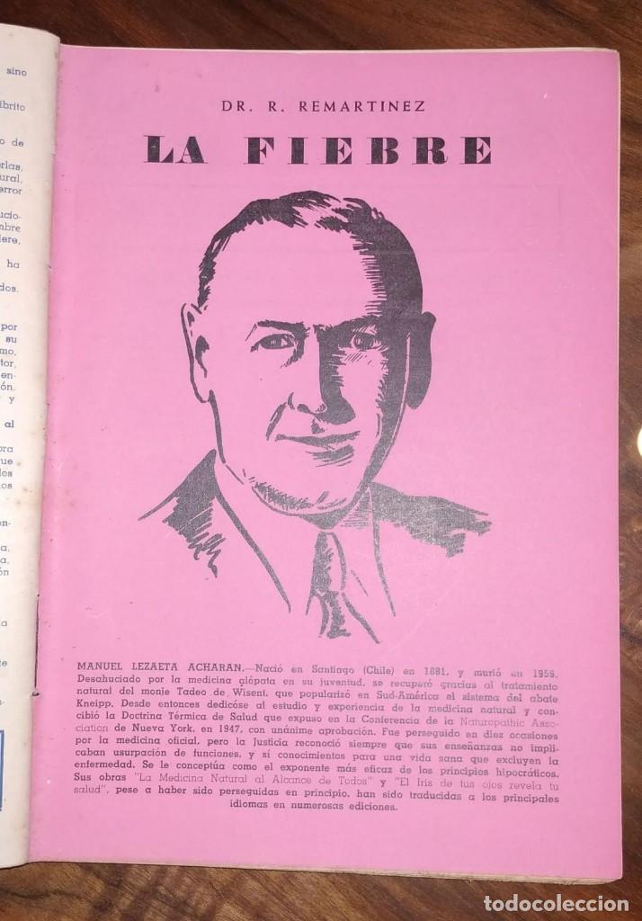 Libros de segunda mano: GRAN LOTE ENCICLOPEDIA DE LA SALUD. 60 EJEMPLARES DEL 21 AL 80. FASCICULOS DE TEMAS SANITARIOS. 1958 - Foto 34 - 236075985