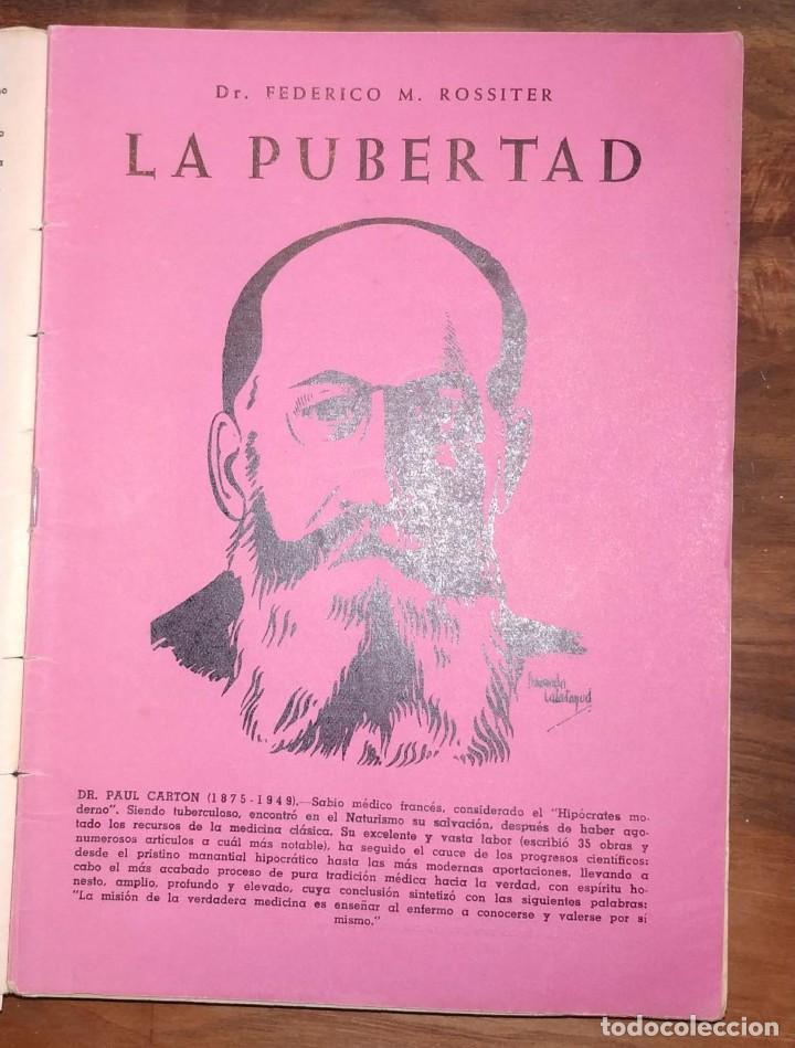 Libros de segunda mano: GRAN LOTE ENCICLOPEDIA DE LA SALUD. 60 EJEMPLARES DEL 21 AL 80. FASCICULOS DE TEMAS SANITARIOS. 1958 - Foto 36 - 236075985