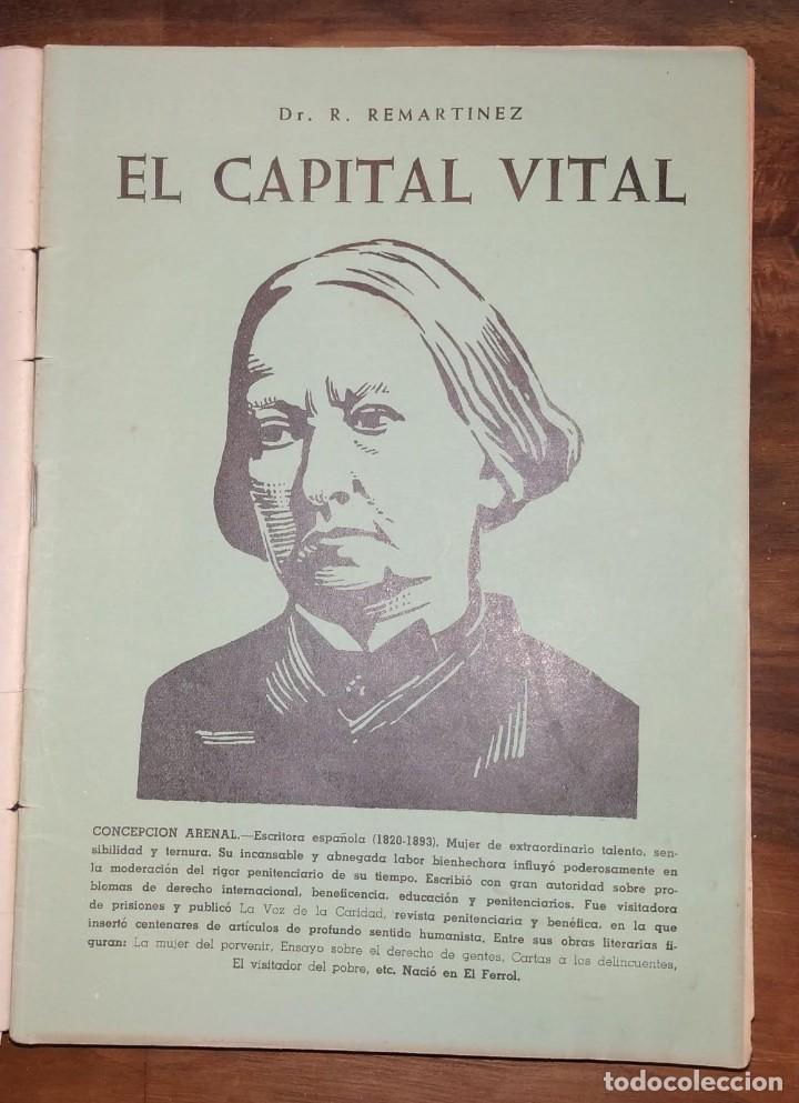 Libros de segunda mano: GRAN LOTE ENCICLOPEDIA DE LA SALUD. 60 EJEMPLARES DEL 21 AL 80. FASCICULOS DE TEMAS SANITARIOS. 1958 - Foto 37 - 236075985