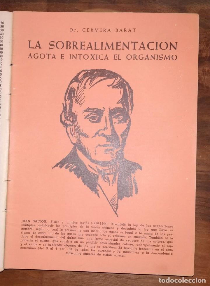 Libros de segunda mano: GRAN LOTE ENCICLOPEDIA DE LA SALUD. 60 EJEMPLARES DEL 21 AL 80. FASCICULOS DE TEMAS SANITARIOS. 1958 - Foto 38 - 236075985