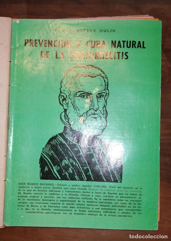 Libros de segunda mano: GRAN LOTE ENCICLOPEDIA DE LA SALUD. 60 EJEMPLARES DEL 21 AL 80. FASCICULOS DE TEMAS SANITARIOS. 1958 - Foto 40 - 236075985