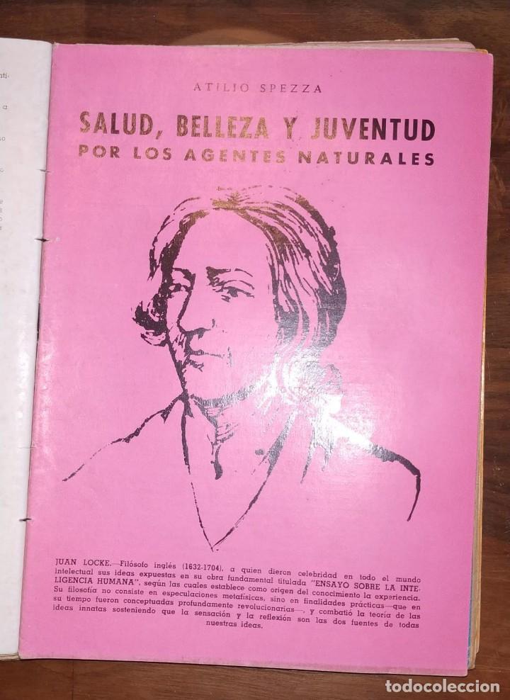 Libros de segunda mano: GRAN LOTE ENCICLOPEDIA DE LA SALUD. 60 EJEMPLARES DEL 21 AL 80. FASCICULOS DE TEMAS SANITARIOS. 1958 - Foto 41 - 236075985