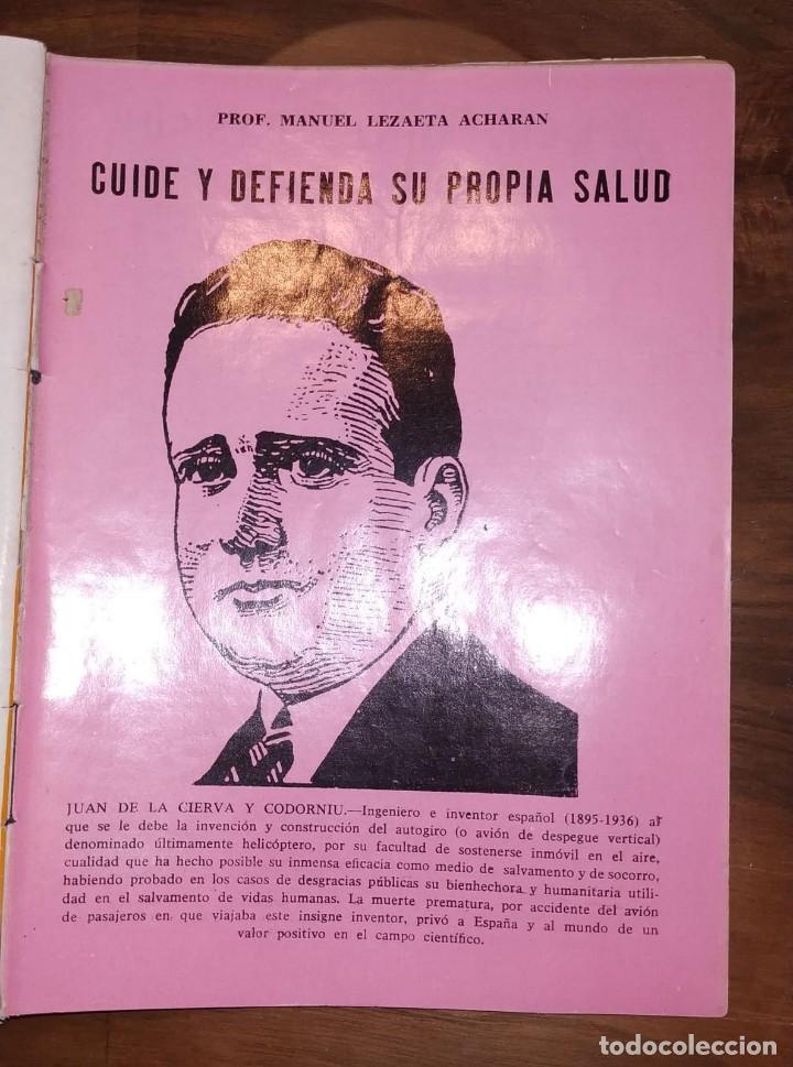 Libros de segunda mano: GRAN LOTE ENCICLOPEDIA DE LA SALUD. 60 EJEMPLARES DEL 21 AL 80. FASCICULOS DE TEMAS SANITARIOS. 1958 - Foto 44 - 236075985