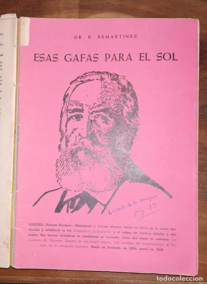 Libros de segunda mano: GRAN LOTE ENCICLOPEDIA DE LA SALUD. 60 EJEMPLARES DEL 21 AL 80. FASCICULOS DE TEMAS SANITARIOS. 1958 - Foto 46 - 236075985