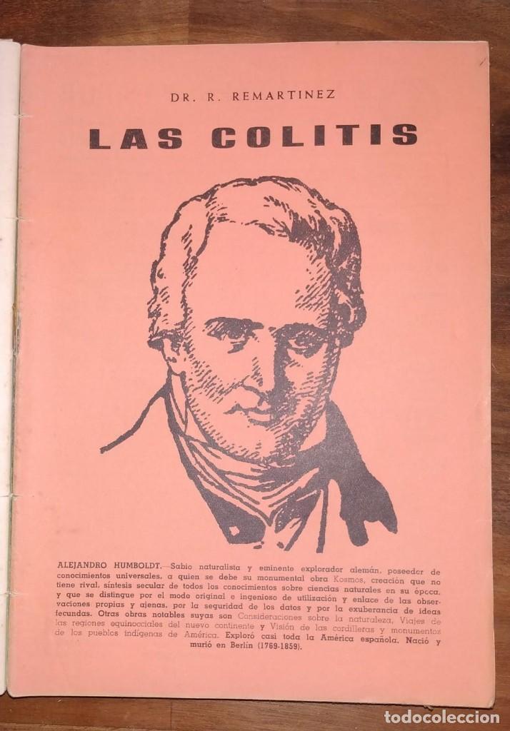 Libros de segunda mano: GRAN LOTE ENCICLOPEDIA DE LA SALUD. 60 EJEMPLARES DEL 21 AL 80. FASCICULOS DE TEMAS SANITARIOS. 1958 - Foto 48 - 236075985