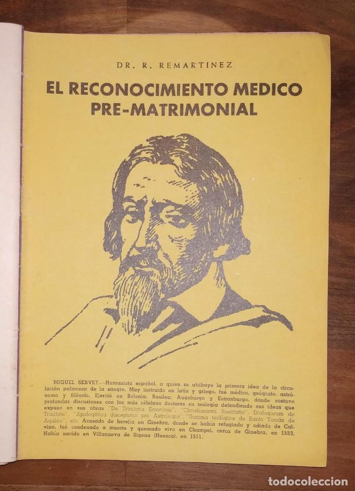 Libros de segunda mano: GRAN LOTE ENCICLOPEDIA DE LA SALUD. 60 EJEMPLARES DEL 21 AL 80. FASCICULOS DE TEMAS SANITARIOS. 1958 - Foto 53 - 236075985
