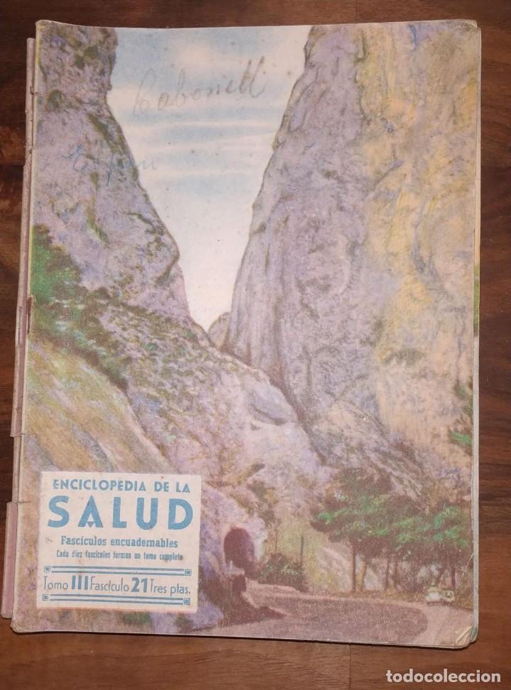 Libros de segunda mano: GRAN LOTE ENCICLOPEDIA DE LA SALUD. 60 EJEMPLARES DEL 21 AL 80. FASCICULOS DE TEMAS SANITARIOS. 1958 - Foto 56 - 236075985