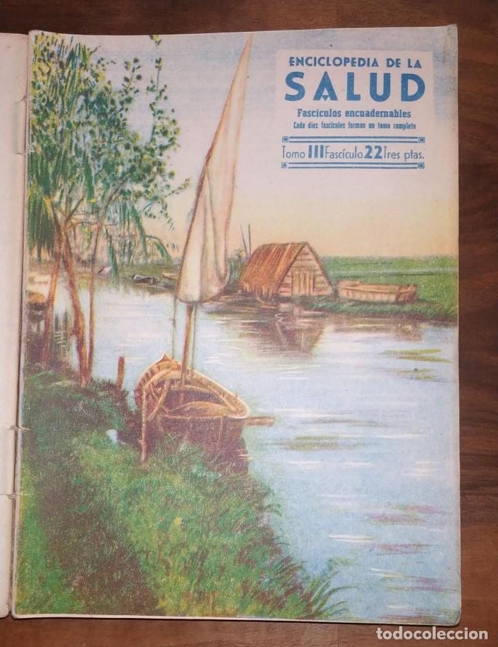 Libros de segunda mano: GRAN LOTE ENCICLOPEDIA DE LA SALUD. 60 EJEMPLARES DEL 21 AL 80. FASCICULOS DE TEMAS SANITARIOS. 1958 - Foto 57 - 236075985
