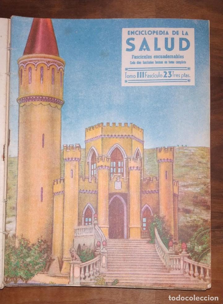 Libros de segunda mano: GRAN LOTE ENCICLOPEDIA DE LA SALUD. 60 EJEMPLARES DEL 21 AL 80. FASCICULOS DE TEMAS SANITARIOS. 1958 - Foto 58 - 236075985