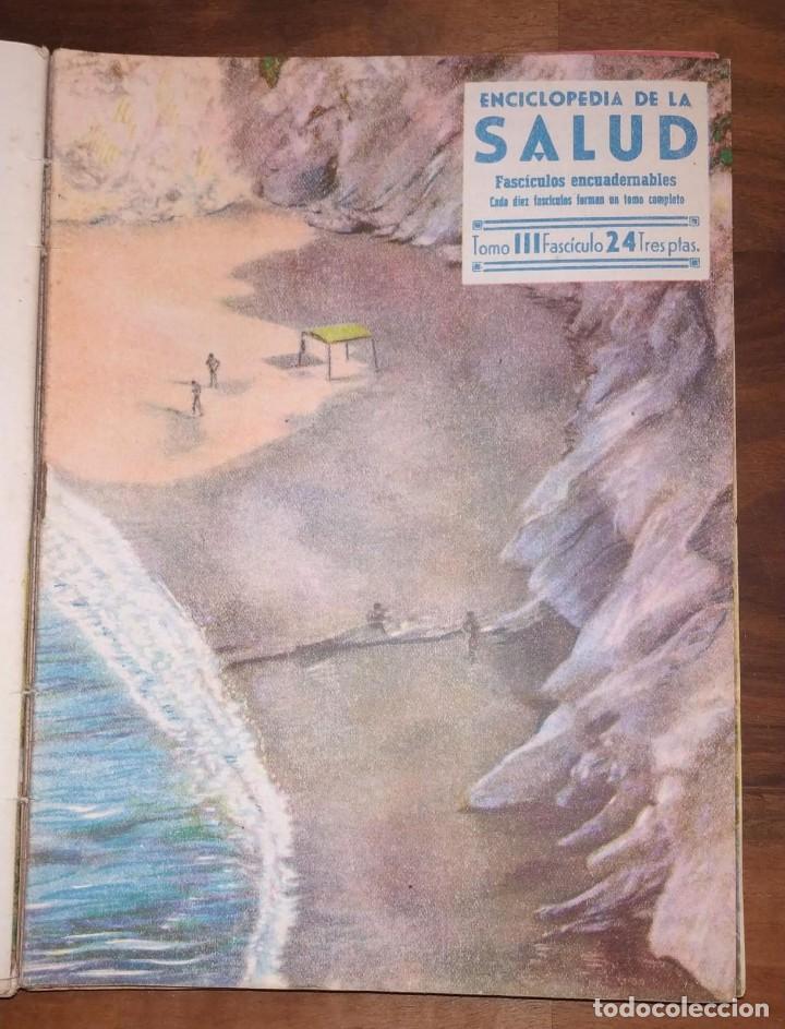 Libros de segunda mano: GRAN LOTE ENCICLOPEDIA DE LA SALUD. 60 EJEMPLARES DEL 21 AL 80. FASCICULOS DE TEMAS SANITARIOS. 1958 - Foto 59 - 236075985