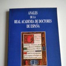 Libros de segunda mano: ANALES DE LA REAL ACADEMIA DE DOCTORES DE ESPAÑA (VOL. 8, Nº 1, MAYO 2004). Lote 237108075