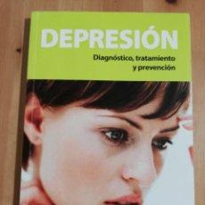 Libros de segunda mano: DEPRESIÓN. DIAGNÓSTICO, TRATAMIENTO Y PREVENCIÓN (OCU. GUÍAS PRÁCTICAS). Lote 240214270